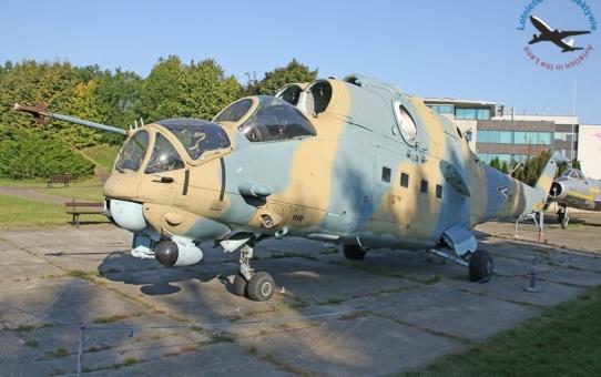 Nowy eksponat w MLP - Mi-24V